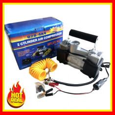 Cumpara ieftin Compresor auto 12V Compresor 2 Cilindri 12V Compresor Auto Umflat Roti