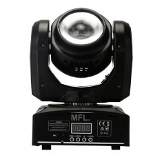 Cumpara ieftin Proiector lumini Beam Moving Head Light, 40 W, LCD, 4 butoane