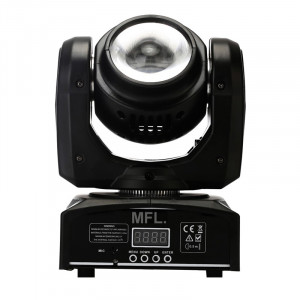 Proiector lumini Beam Moving Head Light, 40 W, LCD, 4 butoane