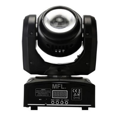 Proiector lumini Beam Moving Head Light, 40 W, LCD, 4 butoane foto