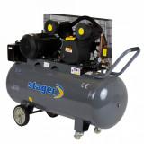 Cumpara ieftin Stager HMV0.6/200 compresor aer, 200L, 8bar, 600L/min, trifazat, angrenare curea