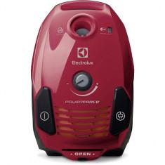 Aspirator cu sac EPF61RR, 700 W, 3.5 l, tub telescopic, filtru Hygiene, rosu