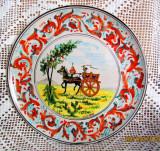 Ceramica Ricardo Sicilia. Placa mare, Caruta siciliana.