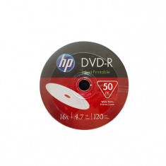 DVD-R HP, 4.7 GB, 16x, 50 bucati/bulk in folie