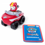 Figurina cu vehicul de salvare Paw Patrol, Marshall
