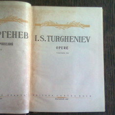 OPERE - I.S. TURGHENIEV VOL. VIII Nuvele si povestiri