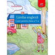 Engleza Cls 5 Caiet - Cristina Rusu