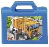 Cumpara ieftin Puzzle Cuburi Vehicule, 12 Piese
