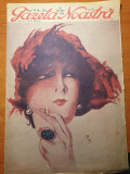 gazeta noastra 28 mai 1931-art. charlie chaplin,victor eftimiu,nicolae iorga