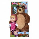 Set papusa Masha - Masha si Ursul Misha