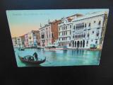 C.P. ITALIA - VENETIA -CANAL GRANDE -CIRCULATA 1918, Printata