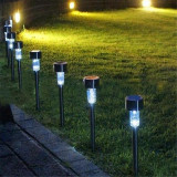 Lampa Solara cu LED - plastic peluza, rezistenta la ploaie - Gradina, Lampa podea