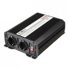 Invertor auto convertor tensiune 12v 230v 1000w 2 iesiri
