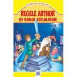 Regele Arthur si sabia Excalibur. Citeste-mi o poveste