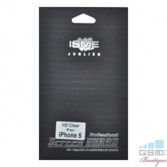 Folie Protectie Display iPhone 5 Screen Guard In Blister