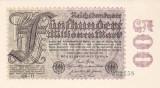 Bancnota Germania 500.000.000 Marci 1923 - P110e UNC