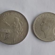 500 Lei 1944+100000 Lei 1946 Lot monede argint Romania Regat!