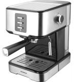 Espressor manual Heinner Brassile HEM-850IXBK, 850 W, 15 Bari, 1.5 L (Negru/Argintiu)