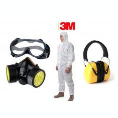 Set accesorii atomizor (ochelari, masca respiratie, casca antifonica,...