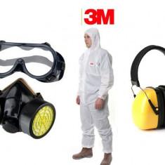 Cumpara ieftin Set accesorii atomizor (ochelari, masca respiratie, casca antifonica,...
