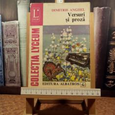 "Dimitrie Anghel - Versuri si proza ""A5096"""