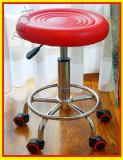 Scaun Salon manichiura/pedichiura  rotativ mobil mobilier Salon