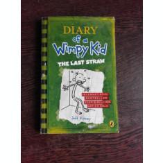 DIARY OF A WIMPY KID, THE LAST STRAW - JEFF KINNEY (CARTE IN LIMBA ENGLEZA)