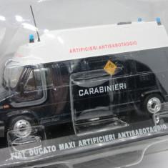 Macheta Fiat Ducato Maxi Carabinieri Edicola 1:43