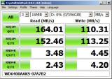 HDD WD WesternDigital Caviar Blue 640 GB SATA 7200 rpm RAID + bonus cablu SATA, Western Digital