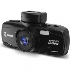 "Camera auto DVR DOD LS460W, Full HD, GPS, senzor imagine Sony, lentile Sharp, WDR, G senzor, 2.7"" LCD, 12MP + Card 16GB Cadou"