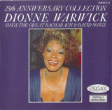 CD Dionne Warwick ‎– 25th Anniversary Collection ,original