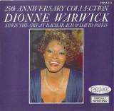 CD Dionne Warwick – 25th Anniversary Collection ,original
