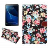 Husa Flip Cu Stand Samsung Galaxy Tab A 10,1 2016 T580 T585 Multicolora