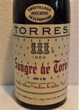 B 16- VIN TORRES, SANGRE DE TORO, SPAIN, recoltare 1969 cl 72 gr 13,5, Sec, Rosu, Europa