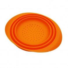 Strecuratoare din silicon Peterhof, 20 cm, portocaliu