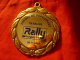 Placheta de Participant la Raliul Rally Magazin 2005 Romania , d=7cm