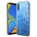 Cumpara ieftin Husa SAMSUNG Galaxy A7 2018 - Luxury Prism TSS, Transparent