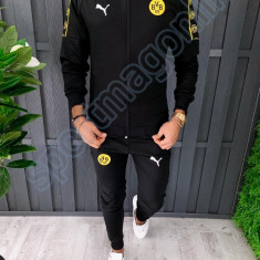 trening barbati Borussia Dortmund - Bluza si pantaloni conici - Model Nou -