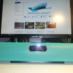 Boxa portabila cu stick USB bluetooth card radio si ceas AK 311