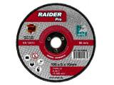 Disc pentru metal, scule pneumatice ø100x6x16mm Raider 169903