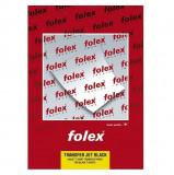 Hartie transfer termic, pentru tricouri negre, printare inkjet, Folex
