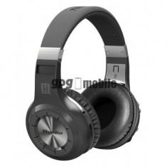 Casti Bluetooth Bluedio H+ Bluetooth 4.1, Wireless, Stereo, microfon incorporat, microSD, FM