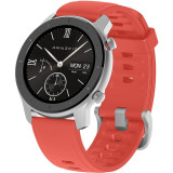 Ceas smartwatch Amazfit GTR, 42mm, Coral Red