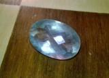 fluorit/ florit imens oval cut pentru pandanti sau inel ! stralucire superba !