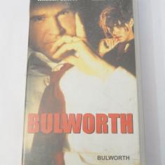 Caseta video VHS originala film tradus Ro - Bulworth