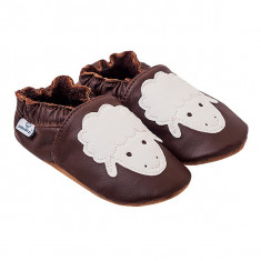 Papucei piele Silent Sheep