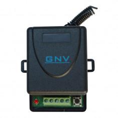 Receptor wireless GNV, 1 releu, comanda temporizata/bistabila