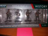 Set 4 soldati US 1 Infantry Division Big Red One - WW II scara 1:32, peste 14 ani, Unisex