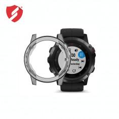 Carcasa protectie TPU rama Garmin Fenix 5x / 5x Plus gri CellPro Secure