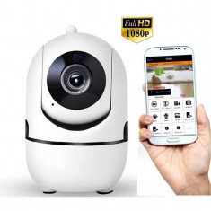 Cumpara ieftin Camera de supraveghere iUni IP2611 Full HD, IP, Wireless, P2P, PT, slot card SD